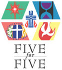Five for Five logo.